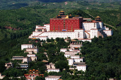 Small Potala Palace in Chengde. World heritage --Putuo Temple of cases located in the northern part of Chengde Mountain Resort, built in the Qing Emperor Royalty Free Stock Image