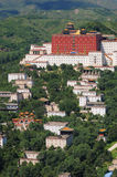 Small Potala Palace in Chengde. World heritage --Putuo Temple of cases located in the northern part of Chengde Mountain Resort, built in the Qing Emperor Stock Photography