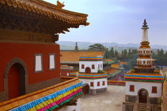 Small Potala Palace in Chengde. World heritage --Putuo Temple of cases located in the northern part of Chengde Mountain Resort, built in the Qing Emperor Royalty Free Stock Photography