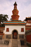 Small Potala Palace in Chengde. World heritage --Putuo Temple of cases located in the northern part of Chengde Mountain Resort, built in the Qing Emperor Royalty Free Stock Photos
