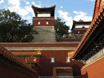 Small Potala Palace in Chengde royalty free stock images