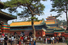 Small Potala Palace Temple in Chengde Royalty Free Stock Images