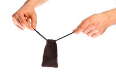 Small pouch Royalty Free Stock Photo