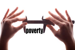 Small poverty concept Stock Photos