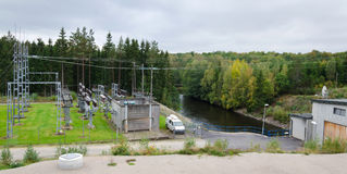 Small power station Royalty Free Stock Photo
