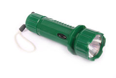 Small powerful electric torch Royalty Free Stock Photo