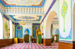 The small prayer hall of Tbilisi Mosque Royalty Free Stock Images