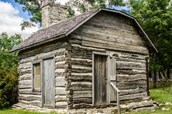 Small preserved log cabin Royalty Free Stock Photo