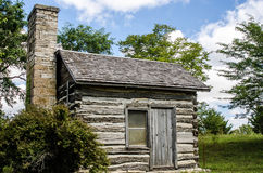 Small preserved log cabin Royalty Free Stock Photos