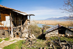 Small Prespa Lake Stock Photos
