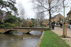 Small pretty English Village Royalty Free Stock Images