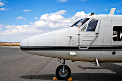 Small private airplane Royalty Free Stock Photo