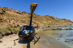 Small private helicopter Royalty Free Stock Image