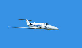Small private jet Royalty Free Stock Photos