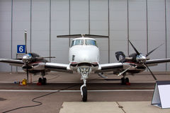 Small private propeller aircraft with one engine Royalty Free Stock Photography