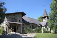 Small protestant church Stock Photos