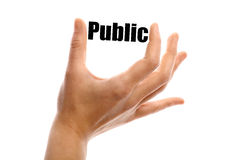 Small public Stock Photography