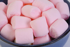 Small puffy marshmallows Royalty Free Stock Photography