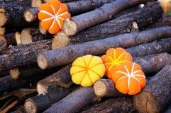 Small pumpkin handmade Royalty Free Stock Photo