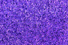 Small Purple, Blue, Pink, White Glitter Stock Image