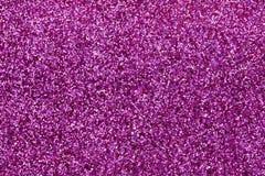 Small Purple, Red, White Glitter. Macro photo of small purple, red, white glitter Stock Image