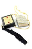 Small Quran with Case Royalty Free Stock Photography