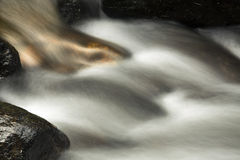 Small rapids, Sugar River, Newport, New Hampshire, long exposure Royalty Free Stock Photo