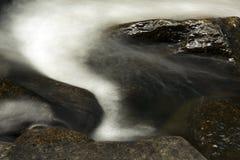 Small rapids, Sugar River, Newport, New Hampshire, long exposure Royalty Free Stock Photography