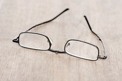 Small reading glasses Royalty Free Stock Photo