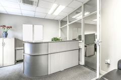 Small reception place in an office Stock Image