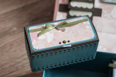 Small rectangular box for small royalty free stock images