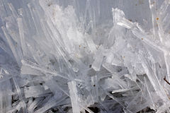 Small rectangular chunks of ice Stock Photo