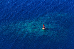 Small red beacon Royalty Free Stock Image