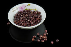 The small red bean Royalty Free Stock Image