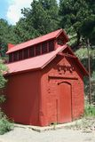 Small Red Building Royalty Free Stock Photo