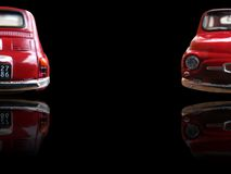 Small red car Stock Photography
