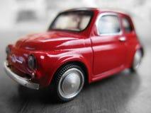 Small red car Stock Photos