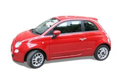 Small red car Royalty Free Stock Images