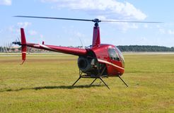 Small red chopper Royalty Free Stock Images