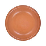 Small red clay bowl Stock Image