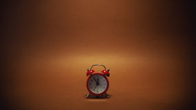 Small Red Clock Royalty Free Stock Photography