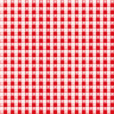Small red eyed white fabric Royalty Free Stock Images