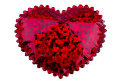 Small red heart Stock Photo