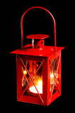 Small red lantern Stock Photography