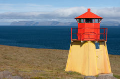 Small Red Lighthouse Stock Images