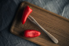 Small red pepper Royalty Free Stock Photography