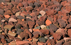 Small Red Rocks Royalty Free Stock Images