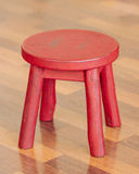 Small Red Stool Stock Photos