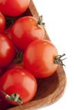 Small red tomatoes Royalty Free Stock Images