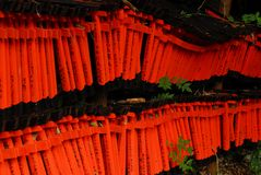 Small red torii Royalty Free Stock Image
